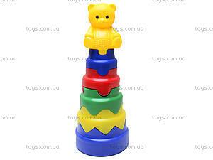 Пирамидка «Волшебная башня», 00036, фото