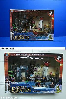 Пиратская крепость, с кораблем, 50866A/50866C