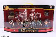 Игровой набор для мальчиков «Пиратский корабль», 0807-C1, купить
