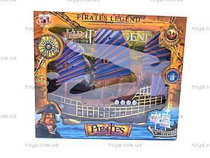 Пиратский корабль Pirates Legend, 352-1, игрушки