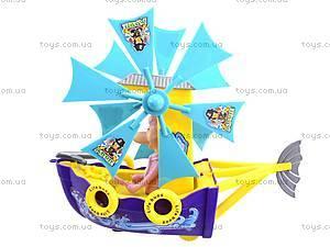 Пиратский корабль с мельницей, 599, детские игрушки