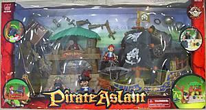 Пиратский корабль с островом, 16508