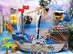Пиратский корабль с пиратами, 50838A, игрушки