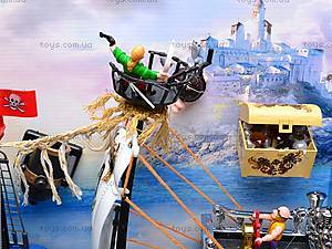 Пиратский корабль с пиратами, 50838A, магазин игрушек