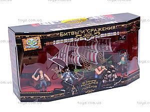Пиратский набор с кораблем, EK80064R, купить
