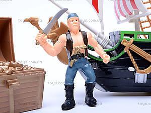 Пиратский набор с кораблем, EK80064R, игрушки