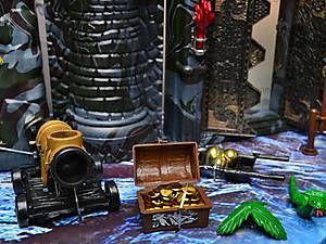Пиратский набор, с кораблем и замком, 50877C, цена