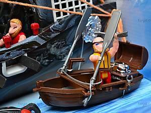 Пиратский набор, с кораблем и замком, 50877C, детские игрушки