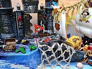 Пиратский набор, с кораблем и замком, 50877C, магазин игрушек