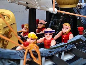 Пиратский набор, с кораблем и замком, 50877C, toys.com.ua