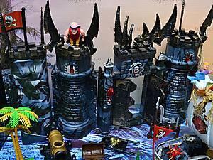 Пиратский набор, с кораблем и замком, 50877C, toys