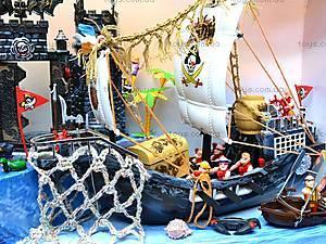 Пиратский набор, с кораблем и замком, 50877C, іграшки