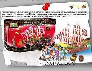 Пиратский набор с пиратами, EK80061R