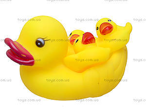 Пищалка для ванной «Утка с утятами», A3-3810, игрушки