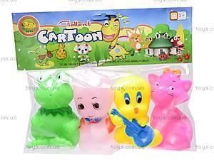 Пищалки «Звери», 5343, toys.com.ua