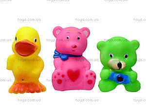 Игрушечные пищалки «Зверьки», B9969, игрушки