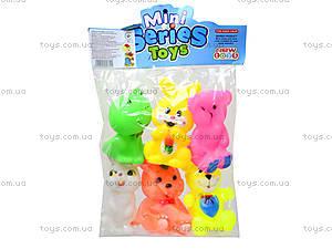 Пищалки детские «Зверята», B9972, игрушки