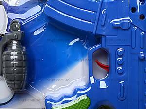Пистолет игрушечный с набором, 600-5, игрушки
