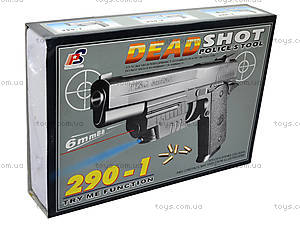 Пистолет с пульками «Меткий стрелок», 290-1, отзывы