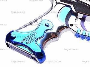 Пистолет, 8 звуков, 518, игрушки