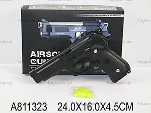 Пистолет Airsoft Gun, черный, WD898