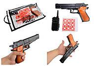 """Игрушечный пистолет """"Beretta B60"""" с аксессуарами и пистонами, 252"""
