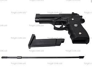 Пистолет детский металлический, J52, купить