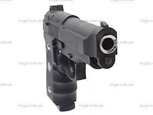 Пистолет детский металлический, J52, отзывы