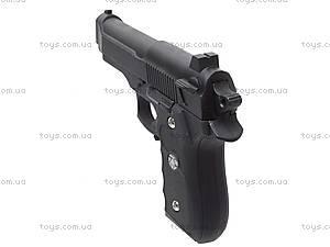 Пистолет детский металлический, J52, цена