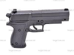 Пистолет детский с пульками, B181