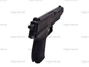Пистолет детский с пулями, 7502, купить