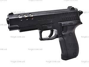 Пистолет детский с пулями, 7502, фото
