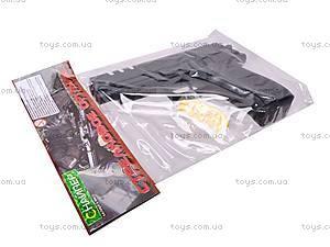 Пистолет детский с пулями, 7502, цена