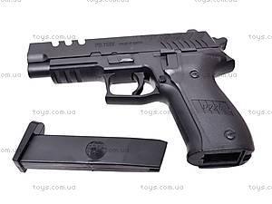 Пистолет детский с пулями, 7502, игрушки