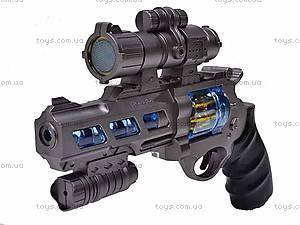 Пистолет для детей, с лазером, B3368-1, фото