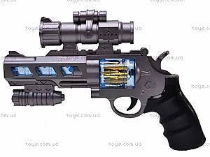 Пистолет для детей, с лазером, B3368-1