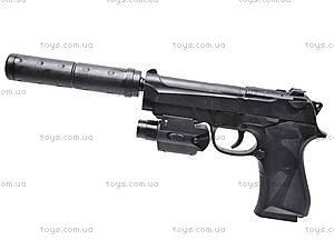 Пистолет для детей, с пульками, MP900D
