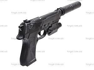 Пистолет для детей, с пульками, MP900D, игрушки