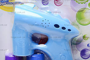 Пистолет для мыльных пузырей «Bubble», CF19803, купить