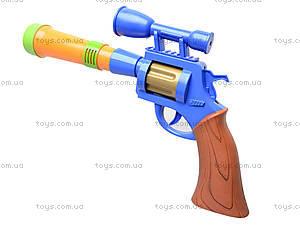 Пистолет игрушечный музыкальный, 1886B, фото
