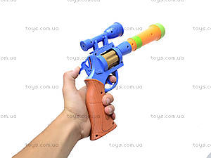 Пистолет игрушечный музыкальный, 1886B, отзывы