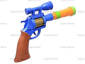 Пистолет игрушечный музыкальный, 1886B, цена