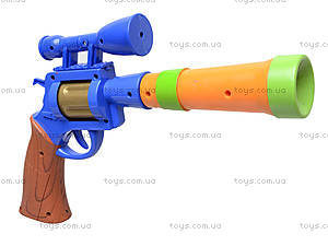 Пистолет игрушечный музыкальный, 1886B, игрушки