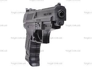 Пистолет игрушечный с пульками, P2022, купить