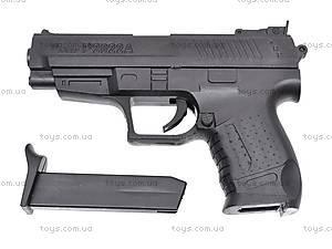 Пистолет игрушечный с пульками, P2022, фото