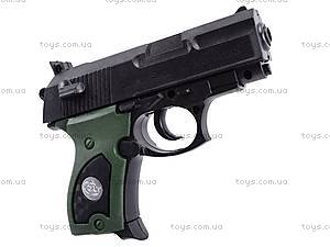 Пистолет игрушечный с пулями, 08702A, магазин игрушек