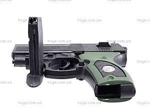 Пистолет игрушечный с пулями, 08702A, toys.com.ua
