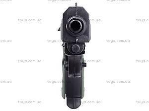 Пистолет игрушечный с пулями, 08702A, іграшки