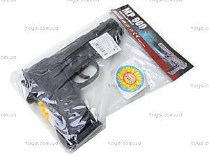 Пистолет игрушечный, с пулями, MP800