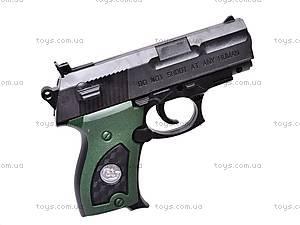 Пистолет игрушечный с пулями, 08702A, фото